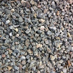 Gråmix Granitskærver 11-16 mm