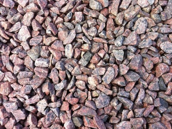 Granitskærver rødmix